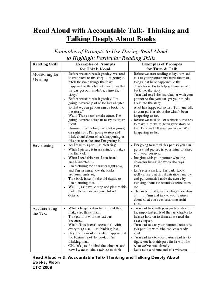 Read Aloud with Accountable Talk: some of this is overly scripted, obviously. But such a great resource for ideas and accountable talk moves. I like how it's paired specifically with reading...which is something TNCore training doesn't address...these days we do a lot of our reading in class (also another interesting convo to have...)