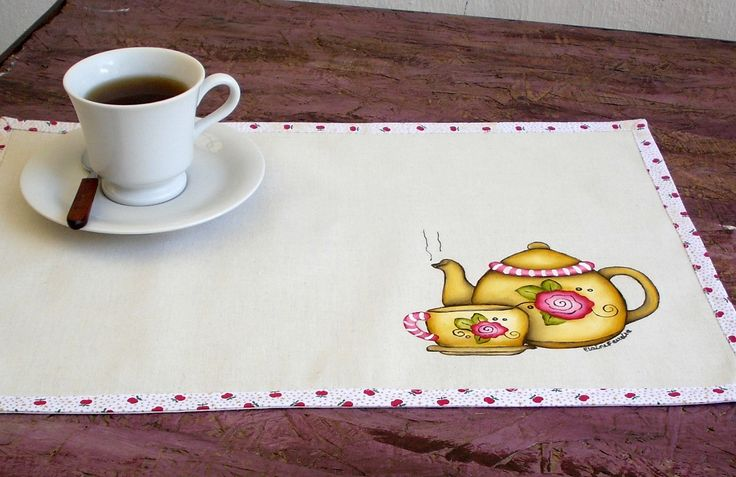 Jogo americano Hora do chá 2 peças