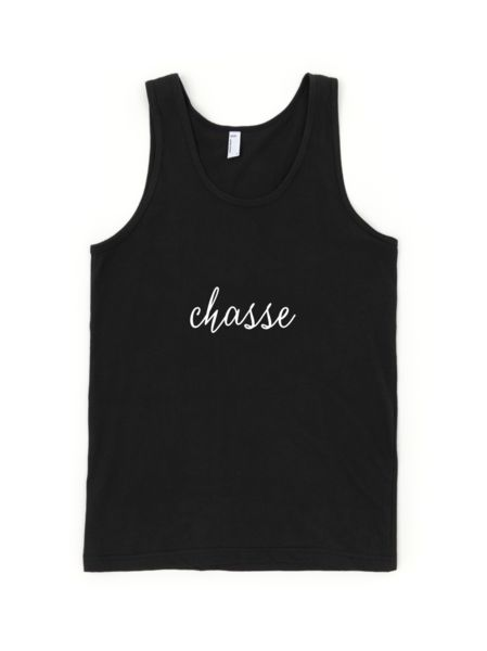 Chasse Youth Tank Top. #danceapparel #dancerclothes #balletdancer #ballet