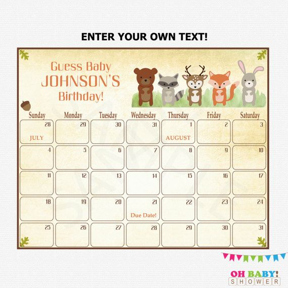 Guess The Birth Date Baby Shower Game: Best 25+ Predict Due Date Ideas On Pinterest