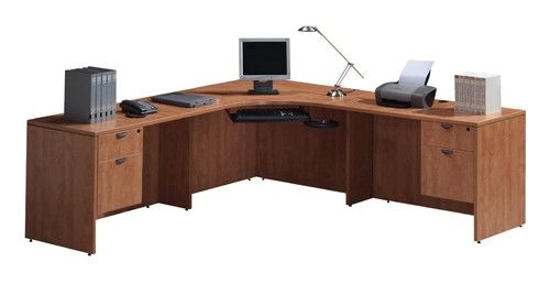 Executive L Shaped Desk By Ndi Office Furniture 60 W X 60 D