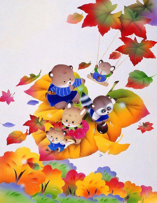 Коллекция картинок: Цветные сны. Японские иллюстрации Igawa Hiroko