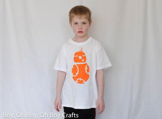 New Item: Star Wars-BB8 T-shirt by BeatnikKids on Etsy