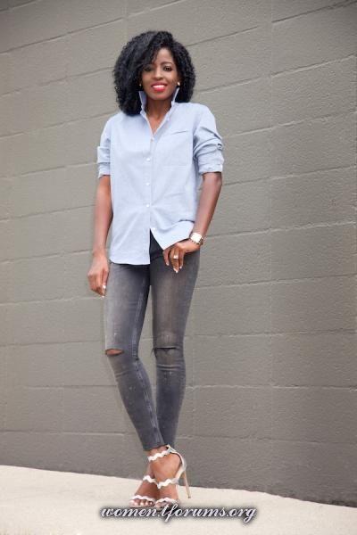 Блог style pantry белая рубашка +  (допустим белая))