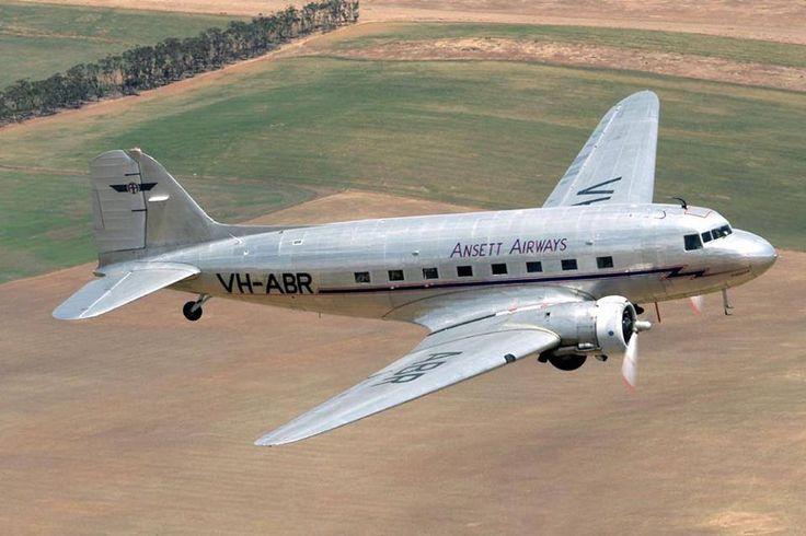 Ansett DC-3 (VH-ABR)