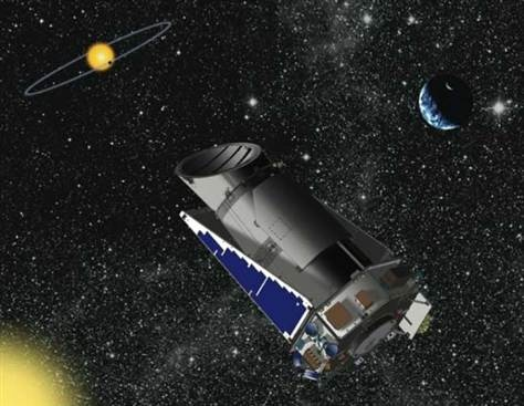 Kepler space telescope adds 41 planets to its lengthening list.  Existence of alien worlds confirmed by two teams using transit timing method.Kepler Spacecraft, Solar System, Kepler Telescope, Nasa Kepler, Spaces Telescope, Mai Exoplaneta, Kepler Spaces, Planets Hunting Kepler, Planethunt Kepler