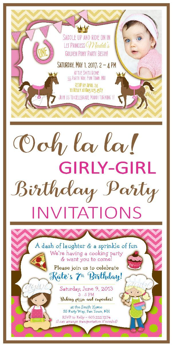 Hundreds of unique printable birthday party invitations for girls or boys. Find your birthday party theme right here and I will customize the invitation design to suit your party colors. Many themes and backgrounds to suit your personality ~ chalkboards, chevron, stripes, polka dots and more. Let's make your child's party invitation and party decor as unique as your child is! - Tap on the link to see the newly released collections for amazing beach bikinis! :D