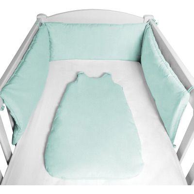 """Intemporel, le tour de lit """"POP"""" est moelleux et confortable."""