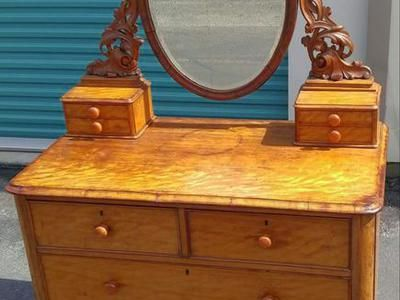 Antique Victorian Dresser c1860 8 Drawer | ksl.com