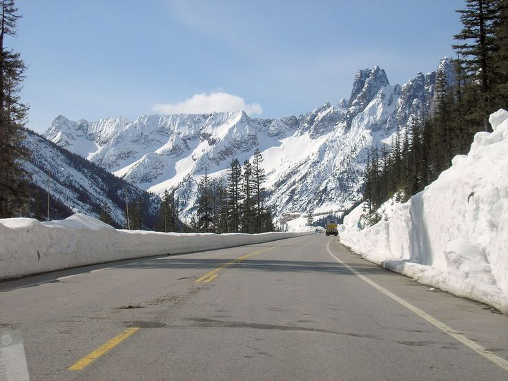 North Cascades Highway, Washington | 28 Scenic Routes You Need To Take Before You Die