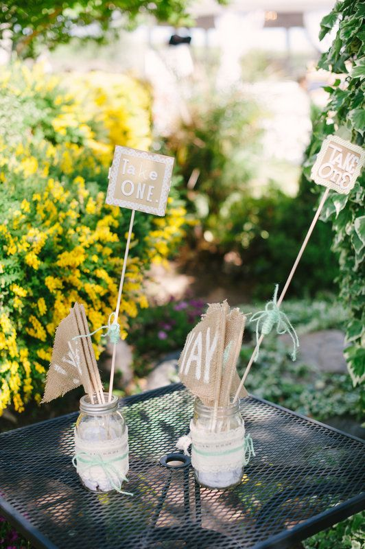 Yay Signs, Handmade with love by Bride's Mom | RJ and Jamie's Wedding  Photo By Pictilio