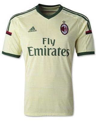 AC Milan magliette da calcio 2014/2015 - Trasferta