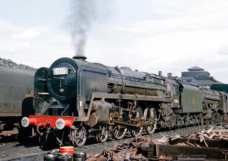 Britannia Pacific 70046 at Willesden 11/8/63.