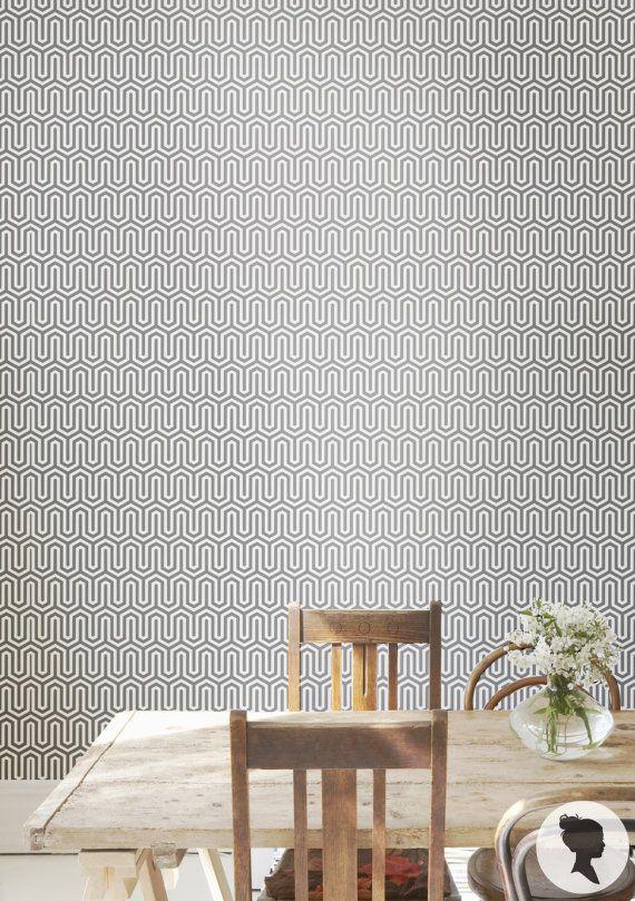 17 Best ideas about Tribal Pattern Wallpaper on Pinterest ...