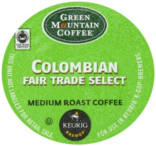 Green Mountain Coffee Fair Trade Colombian Select,  K-Cup Portion Pack for Keurig K-Cup Brewers, 24-Count - http://thecoffeepod.biz/green-mountain-coffee-fair-trade-colombian-select-k-cup-portion-pack-for-keurig-k-cup-brewers-24-count/