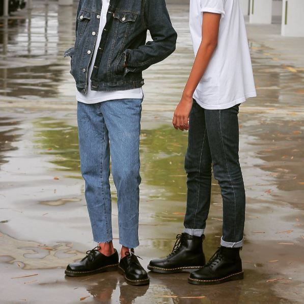 Docs Club: the 1461 shoe and the 1460 boot. Shared by ainolhafiz