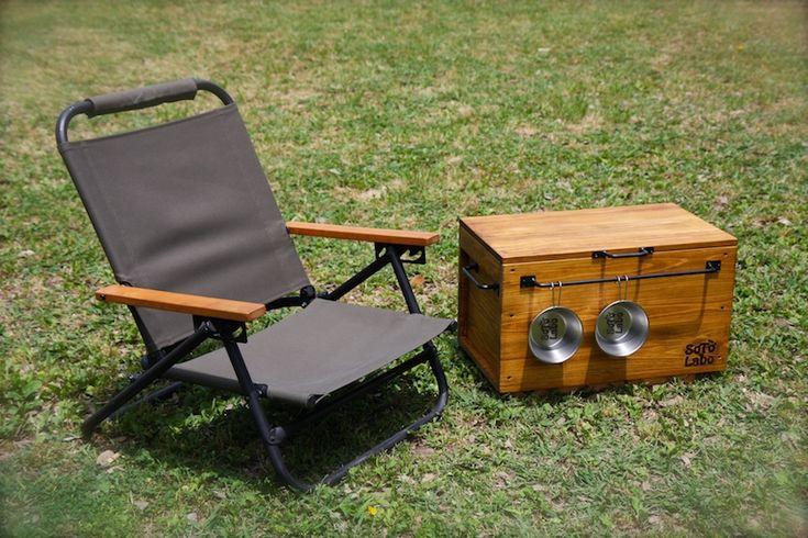 NO CAMP NO LIFE:SotoLabo キャンプなどの細かい道具類や食器類等をGEAR storageに詰め込み、秋の大自然の中に是非お出かけ下さい。