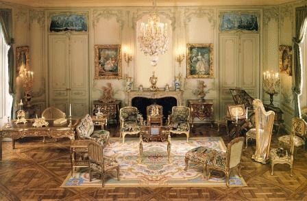 Rooms In A House In French