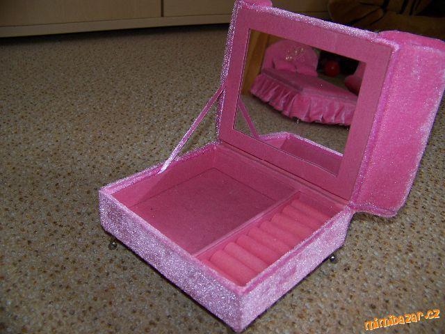 Nábytek pro panenky šperkovnice