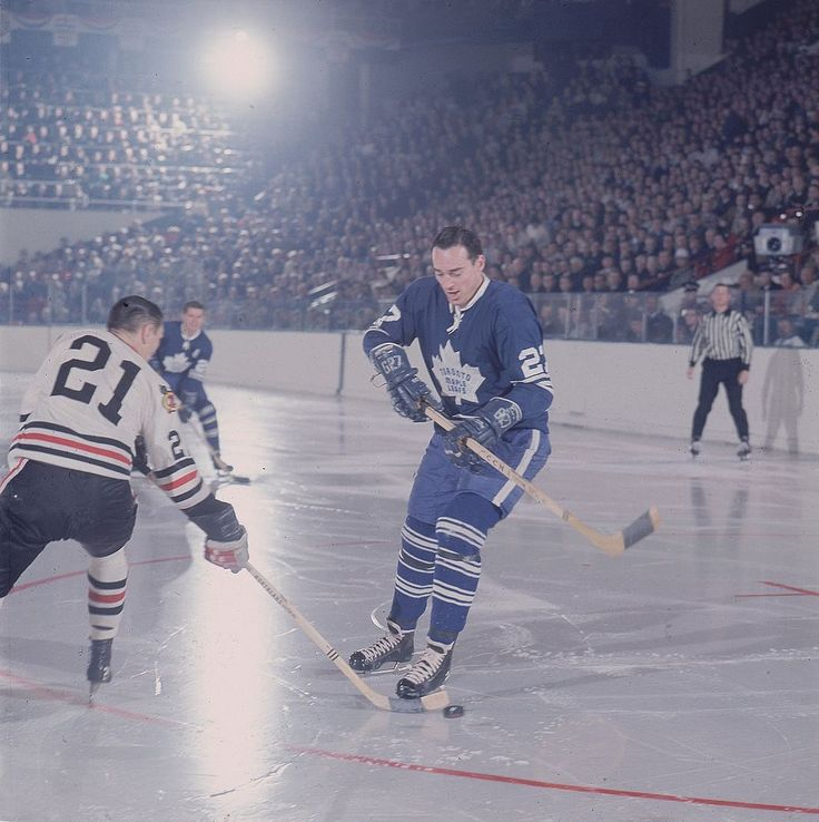 Frank Mahovlich and Stan Mikita