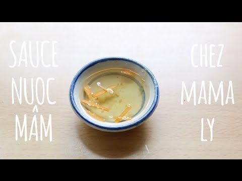 Sauce Nuoc Mâm - recette simple et rapide - YouTube
