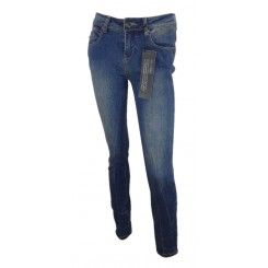 New look medium stretch blue denim shaper super skinny leg jeans ankle grazer