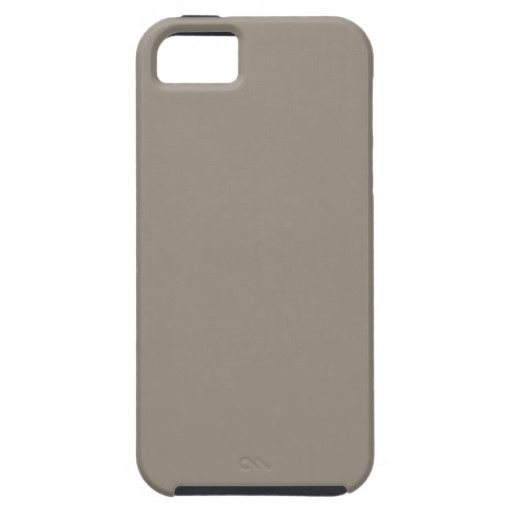 Vintage Khaki Beautiful & Elegant iPhone 5 Covers