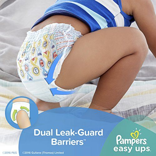 Pampers Boys Easy Ups Training Underwear, 3T-4T (Size 5), 72 Count