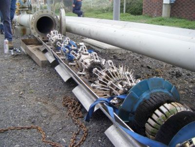 """Smart pigs"" (pipeline inspection gauges)"