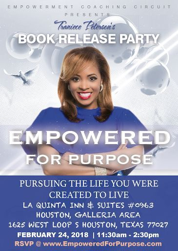 SAVE THE DATERSVP NOW  Book Release Party ALERT!!! If you would like to be my special guest on Saturday February 24th please head over to my website @ https://ec.brandl.ink/2Ggid6C and RSVP to celebrate with me. I'm still EXCITED y'all!!!!  #Empowered4purpose #empowermentcircuit #inpursuitofpurpose #bestsellerinthemaking