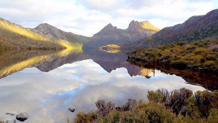 'Dove Lake' in Tasmania