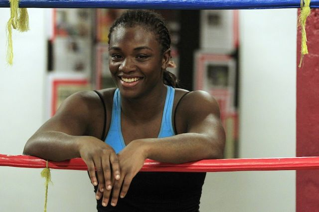 """Claressa Shields - Olympic Gold medalist in boxing. """"I ain't never seen a woman who boxes like me. Even the girls who won gold medals."""""""