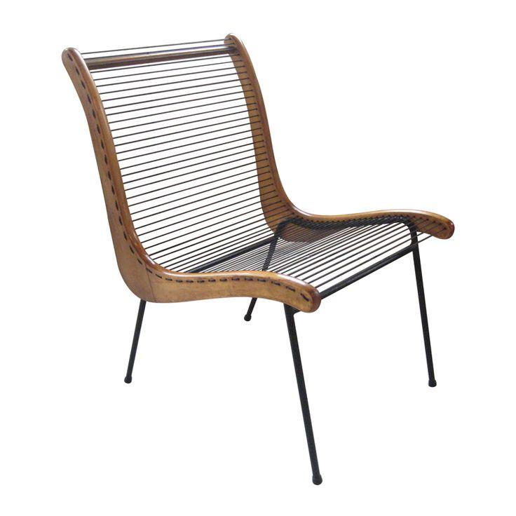 Modernist String Chair by Carl Koch