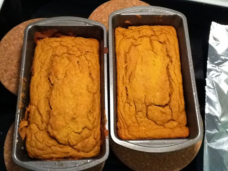 Pumpkin Guts Bread - Makes the whole house smell wonderful