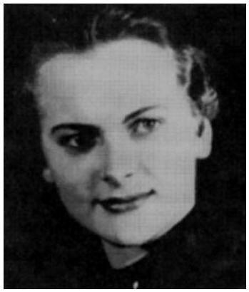 "Irma Grese, the ""Beast of Belsen"" http://blockyourid.com ...  Irma Grese"