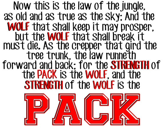Wolf Quotes About Strength: NCSU 20x16 Printable Poster For $15.99!