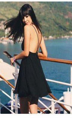4c9ff93b792 Summer Europe and the United States speed to sell through sexy large  backlit sand beach short skirts seaside holiday harness dress   BigWWomensFashion