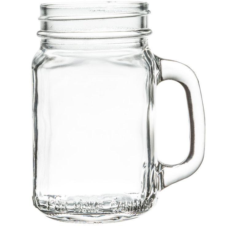 Mason Jar Drinking With Handle