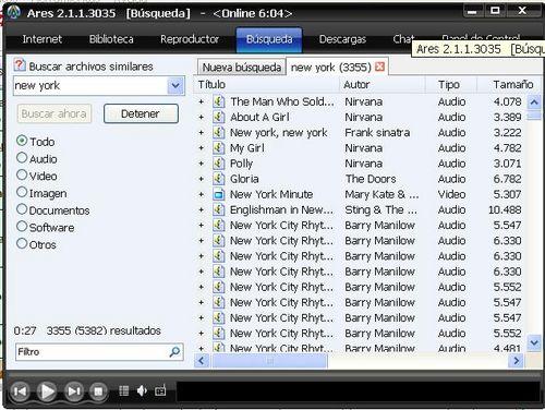 Descargar ARES (gratis) - última versión de ARES en español para Windows en CCM