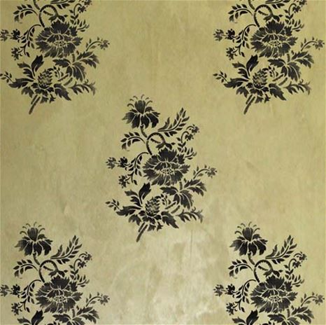 97 best Classic Wall Stencil Ideas images on Pinterest | Wall ...