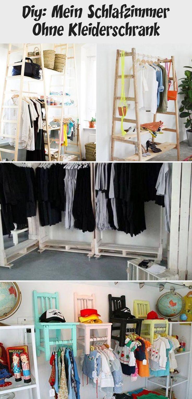 diy mein schlafzimmer ohne kleiderschrank wardrobe rack