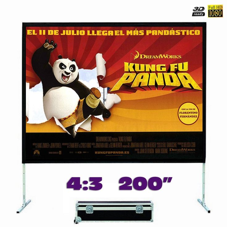 906.92$  Buy now - http://ali7g7.worldwells.pw/go.php?t=32713088647 - Fast Fold Projector Screen 200 inches 4:3 Quick Folding Front Projection for Outdoor Large Concerts, Exhibitions, Cinema