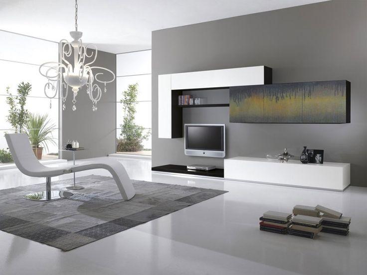 Pareti attrezzate moderne 70 idee di design per arredare for Scavolini pareti attrezzate