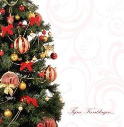 Kerstkaart klassiek: Strakke klassieke kerstkaart met kerstboom. Klassieke kerstkaarten online maken en versturen. Kies een mooie klassieke kerstkaart, schrijf de tekst, en met een druk op de knop, worden alle kerstkaarten voor u gedrukt en via PostNL verstuurd! http://www.kerstkaartensturen.nl/kerstkaarten/kerst-klassiek/