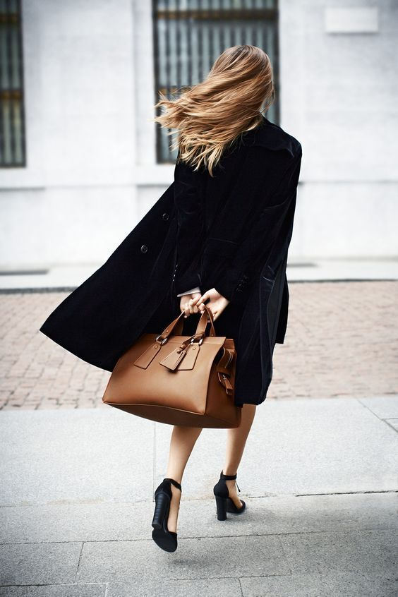 Classy! #jacket #shoes #outfit | Armani Exchange Women Bags | Outlet Value Blog