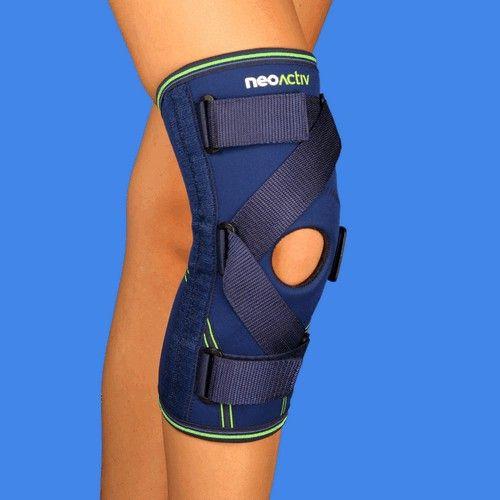 RD61A NeoActiv Rodillera estabilizadora ligamentos cruzados facilita la estabilidad antero-posterior de la articulación sin limitar su movilidad. Limita y controla los posibles movimientos patológicos (antero-posteriores) de la articulación y permite la flexo-extensión. Tratamiento de lesiones de ligamentos laterales y cruzados, preoperatorio, rehabilitación post-traumática y post-operatoria. #salud #deporte #ortopedia