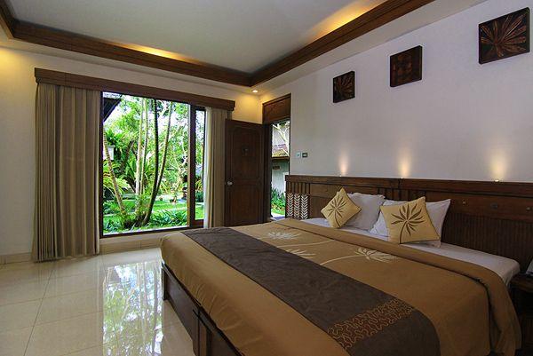 La chambre de notre hotel a Ubud
