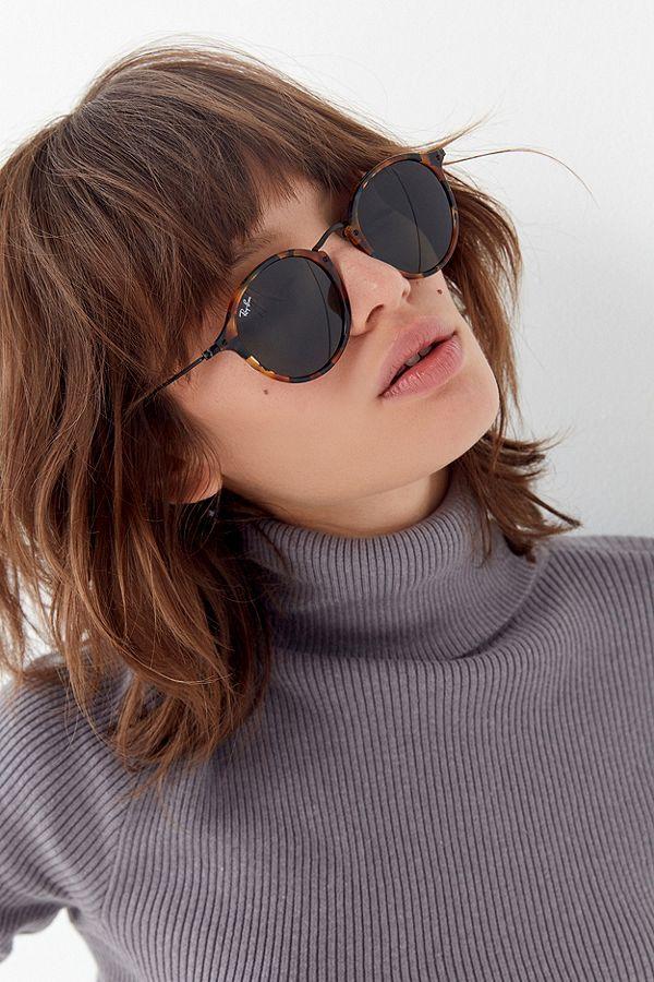 50f50fa098 Ray-Ban Round Fleck Sunglasses in 2019 | ~⭕ ❌ | Round ray bans ...