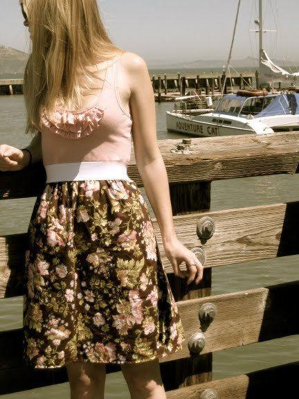 Tank Dress | AllFreeSewing.com