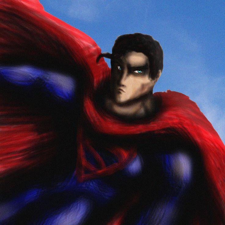 Superman by ~SparkusThunderbolt on deviantART